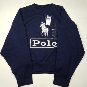 Polo by Ralph Lauren Womens Sweater - Navy XL New